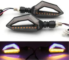 hot deal buy led steering light flashing headlight 9 led indicator light blinker lamp turn light motorcycle parts 2pcs motorcycle accessories