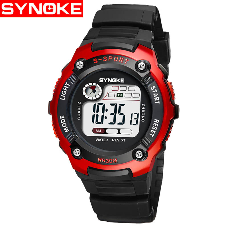 Digital Wristwatches For Children 2018 LED Kids Sport Watches Student Boys Girls Clock Electronic Digital Watches Waterproof children watches for girls digital smael lcd digital watches children 50m waterproof wristwatches 0704 led student watches girls page 2