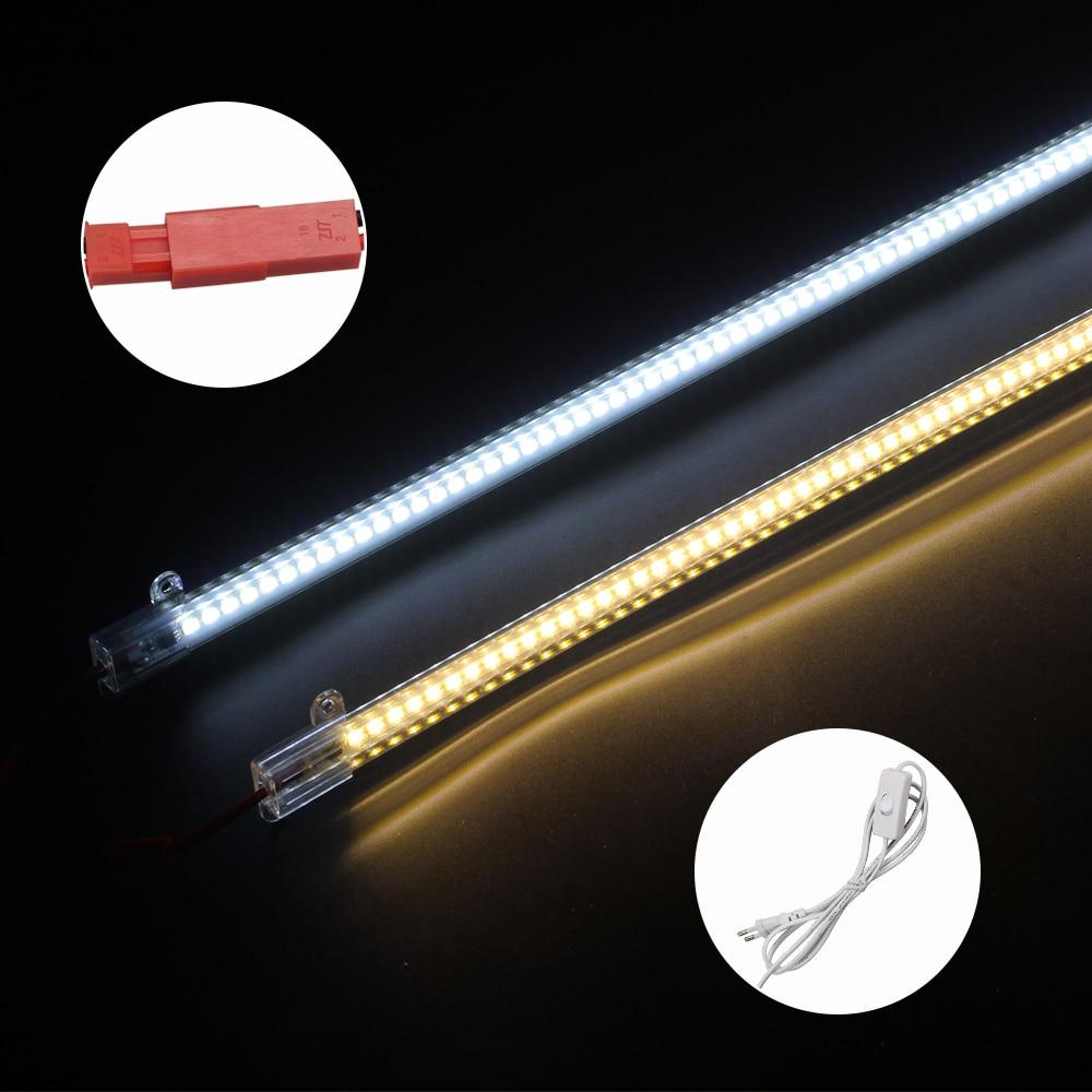 5630/5730 Dimmable LED Жарық жолағы 220V 50CM 72LEDs High - LED Жарықтандыру - фото 4