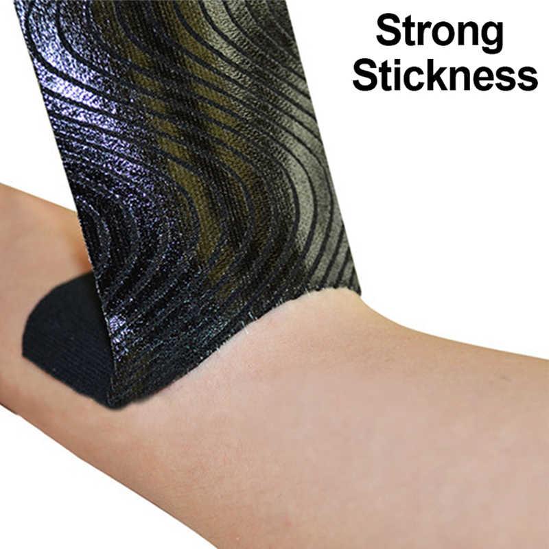 Adhesivo elástico cinta para kinesiología de algodón deporte 5cm X 5m cinta muscular impermeable Protector rodilleras cinta deportiva baloncesto