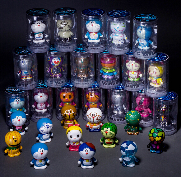 Hot ! NEW 1PCS 8cm 30 style Doraemon A 100th Anniversary Souvenir Robot Soul action figure toys Christmas toy 2017 hot 1pcs 63sn 37pb flux 1 8