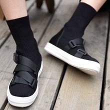 Artmu Original Fashion Women's Martin Boots Handmade Knitted Flat Socks Boots Eastic Boots Female Handsome Boots bottines femme