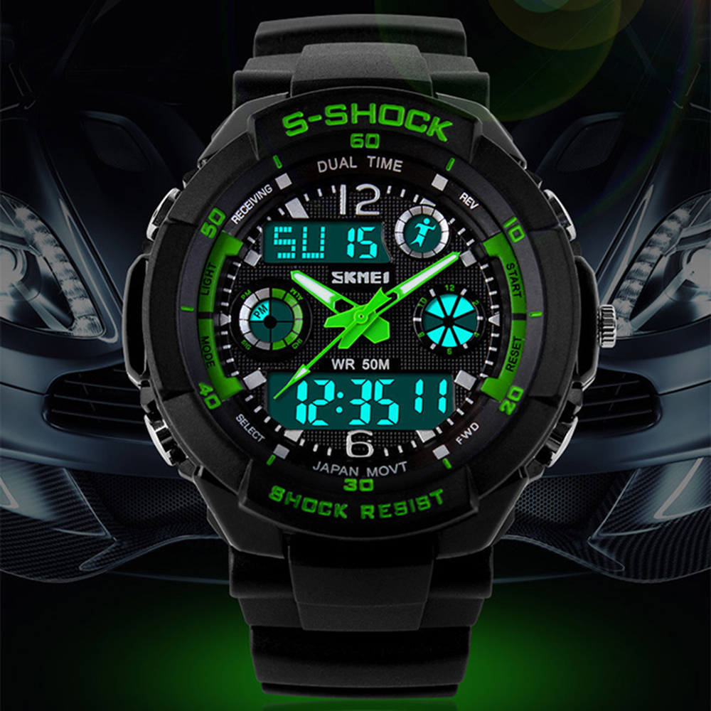 buy 2016 new skmei s shock men led military watch top brand luxury digital. Black Bedroom Furniture Sets. Home Design Ideas