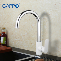 GAPPO Chrome Kitchen Faucet Mixer Cold Hot Water Kitchen Sink Tap Single Handle Filtered Water Tap