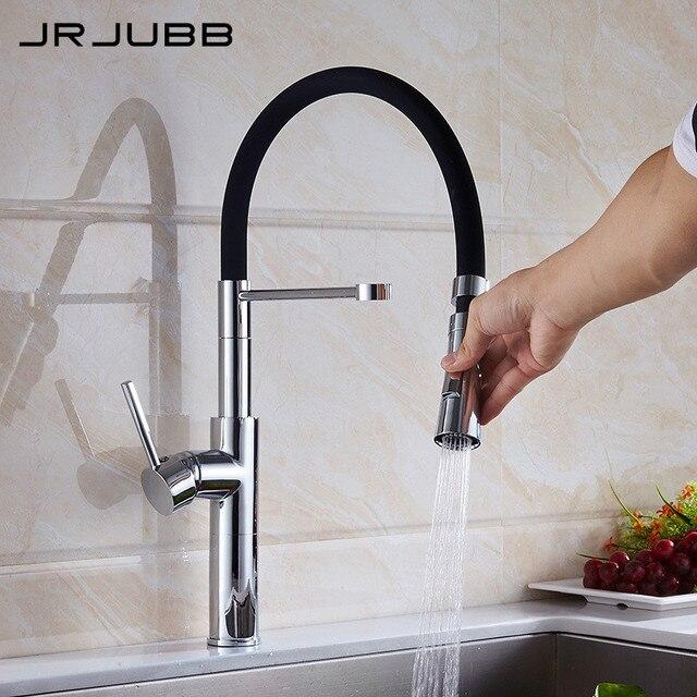Nach Unten ziehen Spüle Wasserhahn Chrom Messing Flexible ...