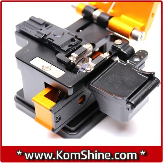 Новый Волокно Кливер kf-52 кабель нож fttt оптическое волокно Нож Инструменты Резак Высокая точность Волокно ножи 16 поверхности Блад