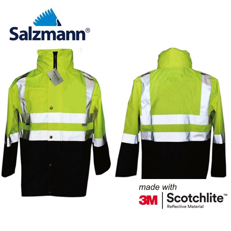 Étanche Manteauveste 3 Scotchlite M Sécurité Salzmann Hzw7z