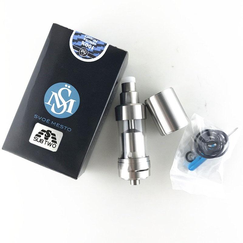 купить 5pcs/lot SUB TWO kayfun v5 RDA E Cigarette Atomizer fit 510 Thread RDA 22 diameter по цене 4419.84 рублей