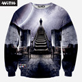 2016 New Design Fashion Men Women 3d Sweatshirt Popular Personality Spack Marilyn Monroe Makeup Psychedelic Print Hoodies
