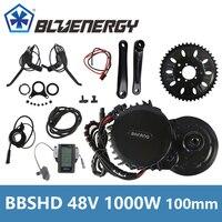 Bafang 8Fun BBSHD BBS03 Central Mid Drive Motor 48V 1000W 46T Chainwheel Ebike Kits With LCD