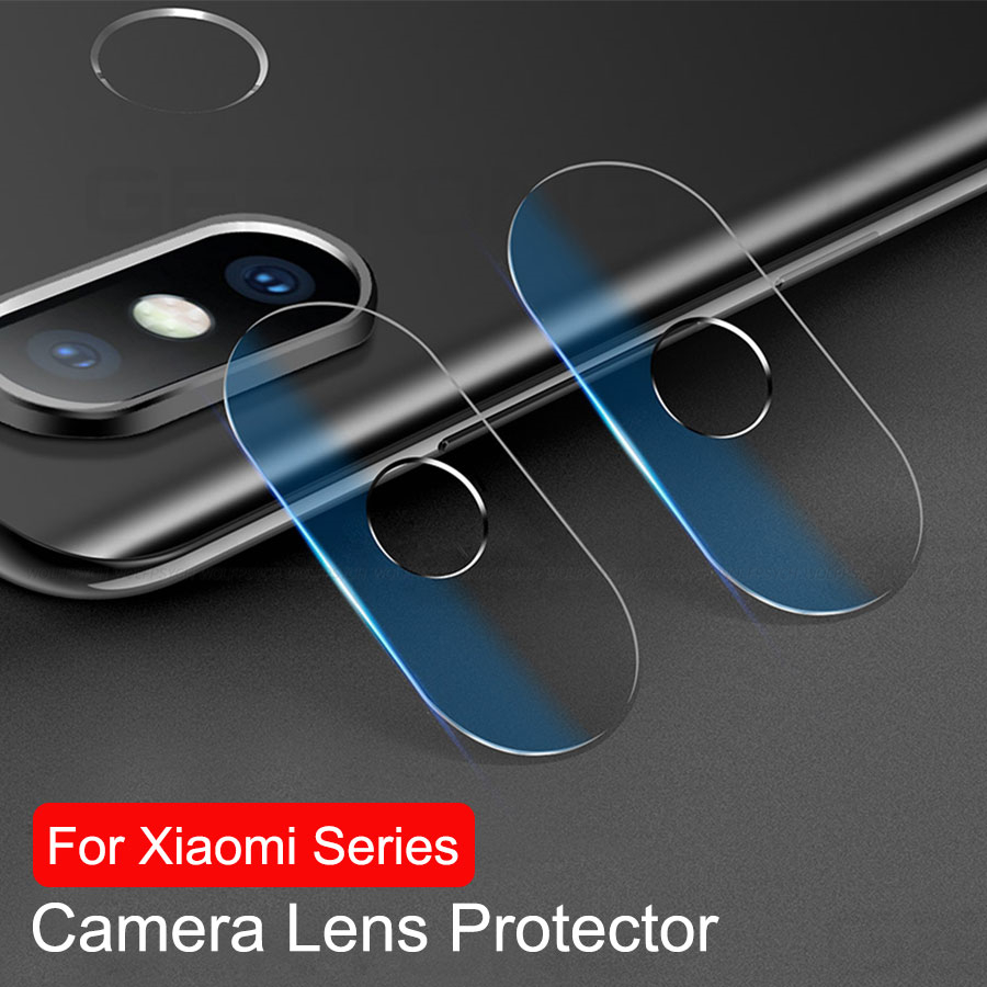 WOLFPSYCH 2Pcslot Lens Transparent Tempered Glass For Xiaomi A2 Lite Redmi 6 Pro 6A 5 Plus S2 Back Camera Lens Protector Film