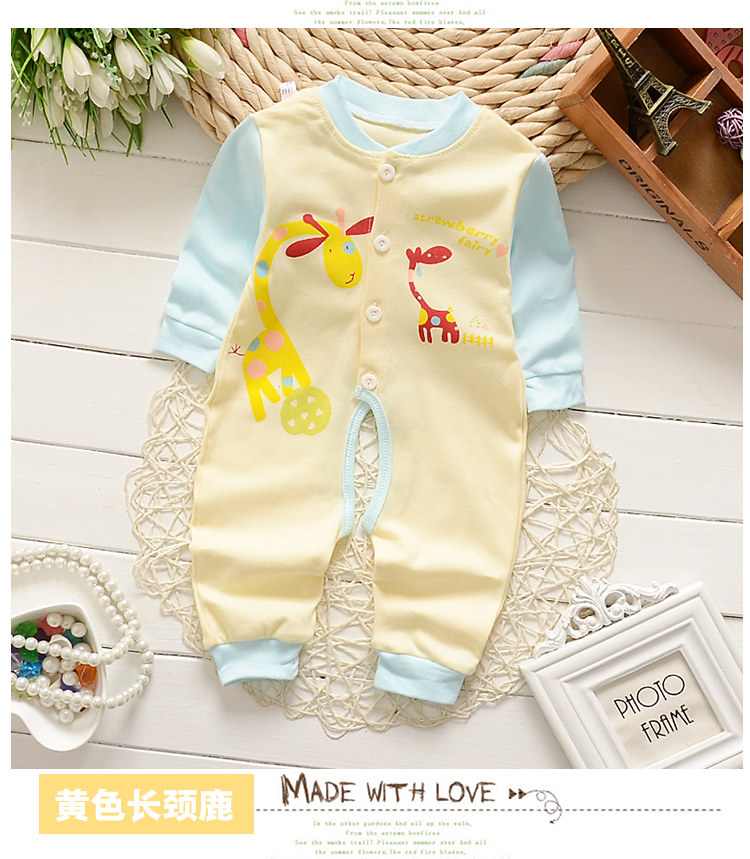 1150409beaebf PMGZGLY Summer Baby Rompers Brand Baby Costumes Baby Boys Girls Clothes 3 6  9 Months Cute Infant Jumpsuit Clothing Footies. 1 2 3 4 5 8 7 6 9 10 ...