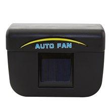 Авто 1 Вт солнечные окна вентилятором авто Прохладный Air Vent для автомобиля черный