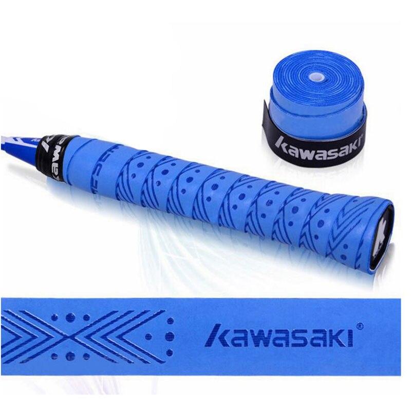 Kawasaki Brand 10pcs/lot Overgrip Tennis Racket Sweatbands Anti-slip Breathable Sweat Band Badminton Grip Tape X5