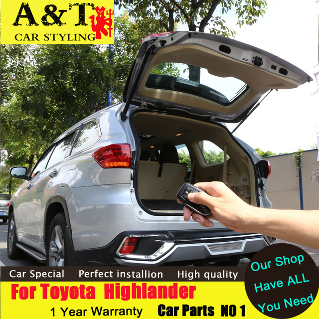 car styling For Toyota Highlander power tailgate new Highlander special modified car trunk electric tailgate Automatic trunk