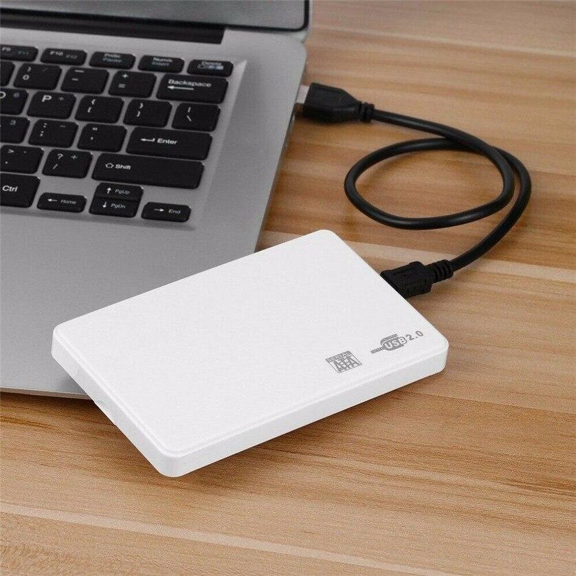 100set lot 2 5Inch 2 5 SATA Box USB 2 0 SATA HD Box HDD Hard