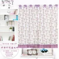 Custom Made Rod Pocket Shade Window Curtain for Kitchen Flower Leaves 130 x 80 100 120 150cm 170 x 120 160cm 270 x 120 160cm