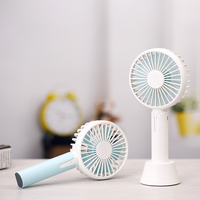 Portable Outdoor Office Use 1200mAh Rechargeable Desktop Handheld Mini Fans USB Cooling Fan With 3 Speed