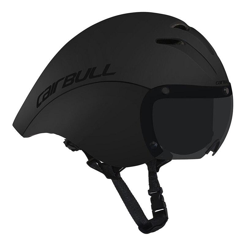 CAIRBULL 2 линзы велосипедный шлем гоночные Магнитные очки шлем Триатлон время пробный велосипедный шлем пневматический TT дорожный велосипедн...