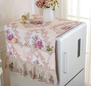 Fyjafon покрытия на холодильник напечатанные кухонные пылезащитные Чехлы, пасторальный пылезащитный чехол с сумкой для хранения 55*145/70*170
