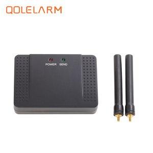 Image 5 - 433 mhz repetidor de sinal de alarme sem fio transmitir e aumentar o sinal de sensor detector extensor para o nosso sistema de alarme de segurança