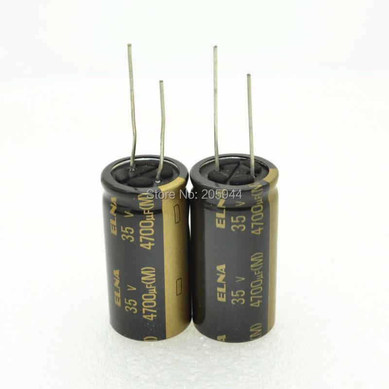2pcs ELNA RE3 2200uF//35V Audio Electrolytic Capacitor-5648