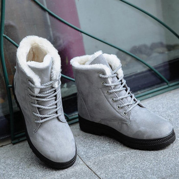 Women's Snow Boots 2019New Ladies Snow Boots Winter New Women's Winter Shoes Women's Warm in the Tube Women's Cotton Shoes Boots
