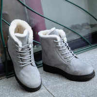 Women's Snow Boots 2019New Ladies Snow Boots Winter New Women's Winter Shoes Women's Warm in the Tube Women's Cotton Shoes Boots
