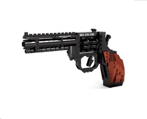 300 pcs Classique arme Armée Revolver Pistolet CS Cartouche Briques Building Block Jouet le meilleur cadeau pour les enfants