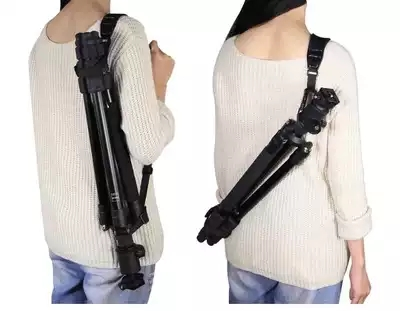 Adjustable Universal Tripod Monopod Shoulder Strap Light Tripod Stand Suspender Carrying Belt for Photo Studio kits