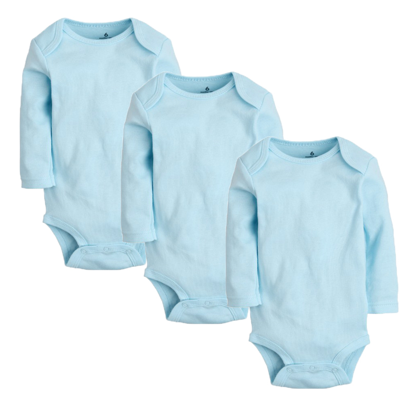 3Pcs Baby Rompers Spring Baby Boy Clothes Solid Newborn Baby Clothes Cotton Baby Girl Clothing Roupas Bebe Infant Jumpsuits newborn baby rompers baby clothing 100% cotton infant jumpsuit ropa bebe long sleeve girl boys rompers costumes baby romper