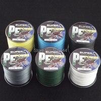 4 пряди коса для рыбалки линия для рыбалки линии зеленый 500 м метров