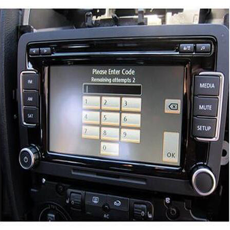 VW Radio Code Unlock and Decode Fast Service RNS 310 315 RCD510 200 etc