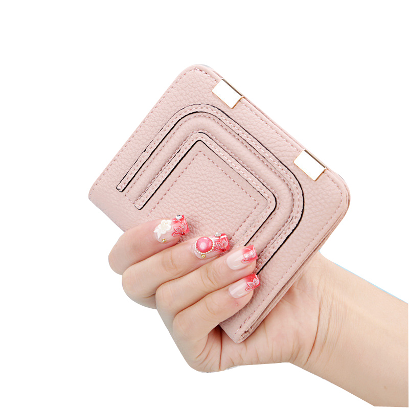 Small Wallet Women Candy Coin Pouch Small Short Bags Key Holder Women Purse Woman Wallets Girl Bag Purse Minimalist Wallet