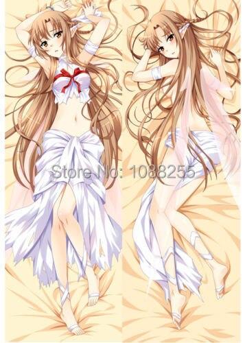 SAO Sword Art Online Asuna бикини Dakimakura обнимающий чехол для подушки MGF