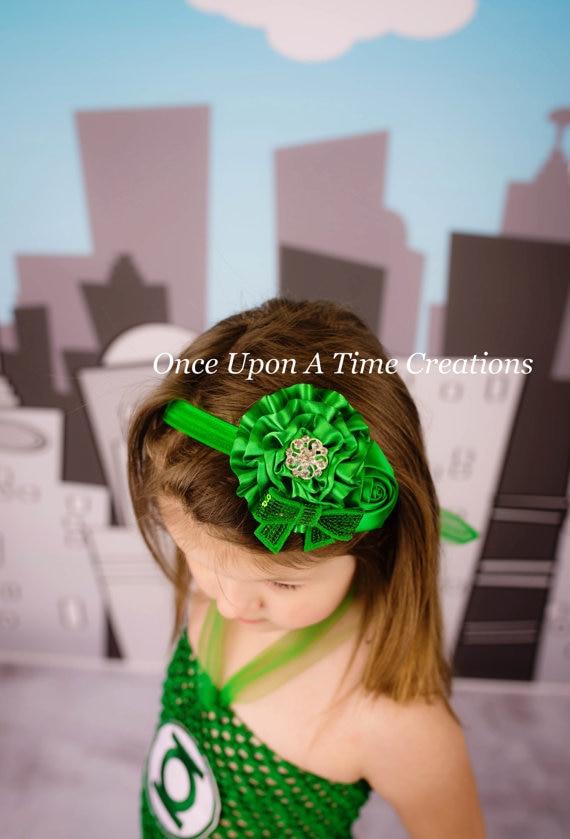 TWDVS Flor recién nacida Banda para el cabello Rosa Perla Elástica - Accesorios para la ropa - foto 4