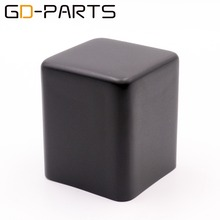 1 قطعة 85*85*100 مللي متر الأسود الحديد محول غطاء الصمام الثلاثي حماية مربع حالة الضميمة ايفي الصوت خمر أنبوب أمبير DIY GD PARTS