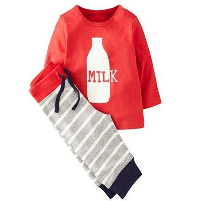 8d9d705cfb2 Комплекты детской одежды Комплект одежды костюм футболка + штаны до  шаровары одежда для мальчиков Спортивный комплект