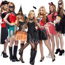 Cos halloween adult clothes women's clothes pirates of the devil super man set