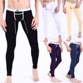 Men Cotton Long Jhons Underpants, Lounge Wear for Men'S Thermal underpants for spring, 5 colors available Size S M L