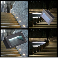 LED underground lamps 3W outdoor Landscape stair lighting led step lights nightlights floor lamp Waterproof Embedded