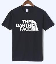 2018 THE DARTH FACE pattern men's T-shirts summer short sleeve fitness T-shirt brand clothing top tees undertale t shirt men hot
