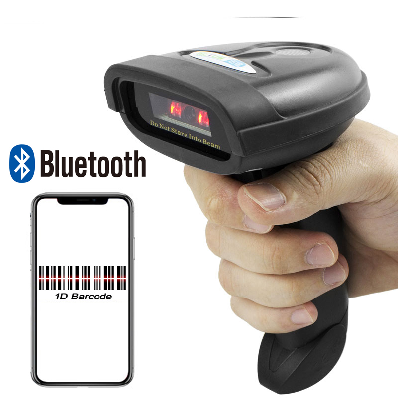 цена на L28BC Wireless Bluetooth Barcode Scanner And L28BT Handheld Bluetooth 1D/2D QR Bar Code Reader Support Android, iOS and iPad