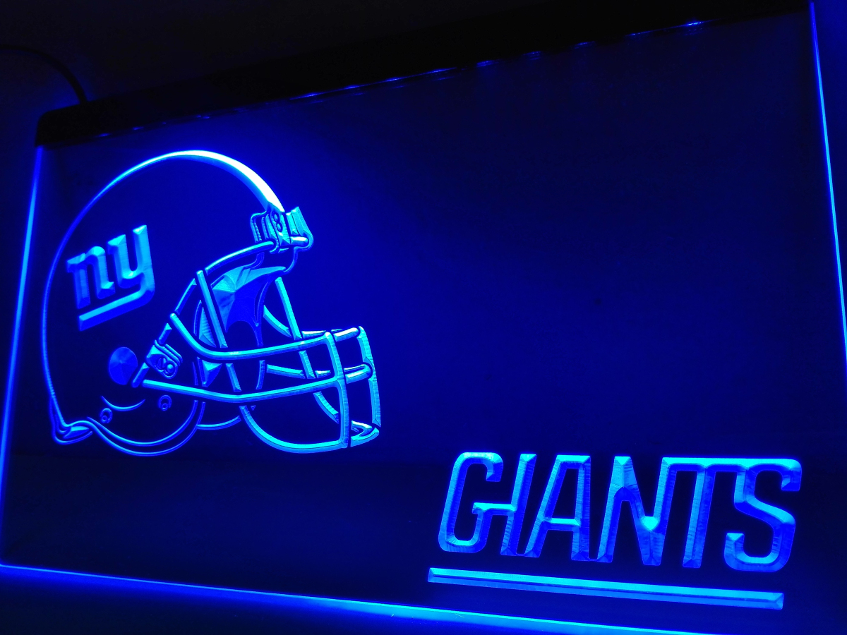 Ld329 Ny New York Giants Helmet Nr Led Neon Light Sign In Plaques Signs From Home Garden On Aliexpress Alibaba Group