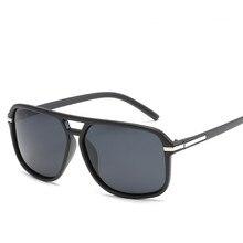 Новые Мужские солнечные очки больших размеров поляризованные зеркальные очки для вождения солнцезащитные очки для мужчин брендовые дизайнерские ретро H D водительские солнцезащитные очки