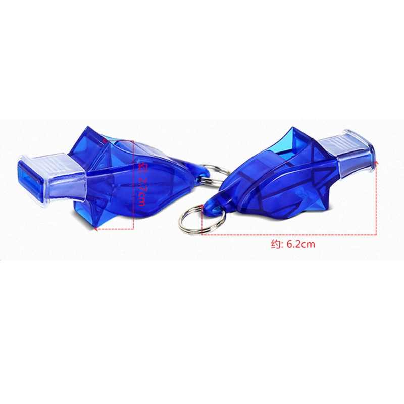 New Sports Big Sound Whistle Seedless Plastic Whistle Professional Soccer Basketball Referee Whistle Outdoor Sport