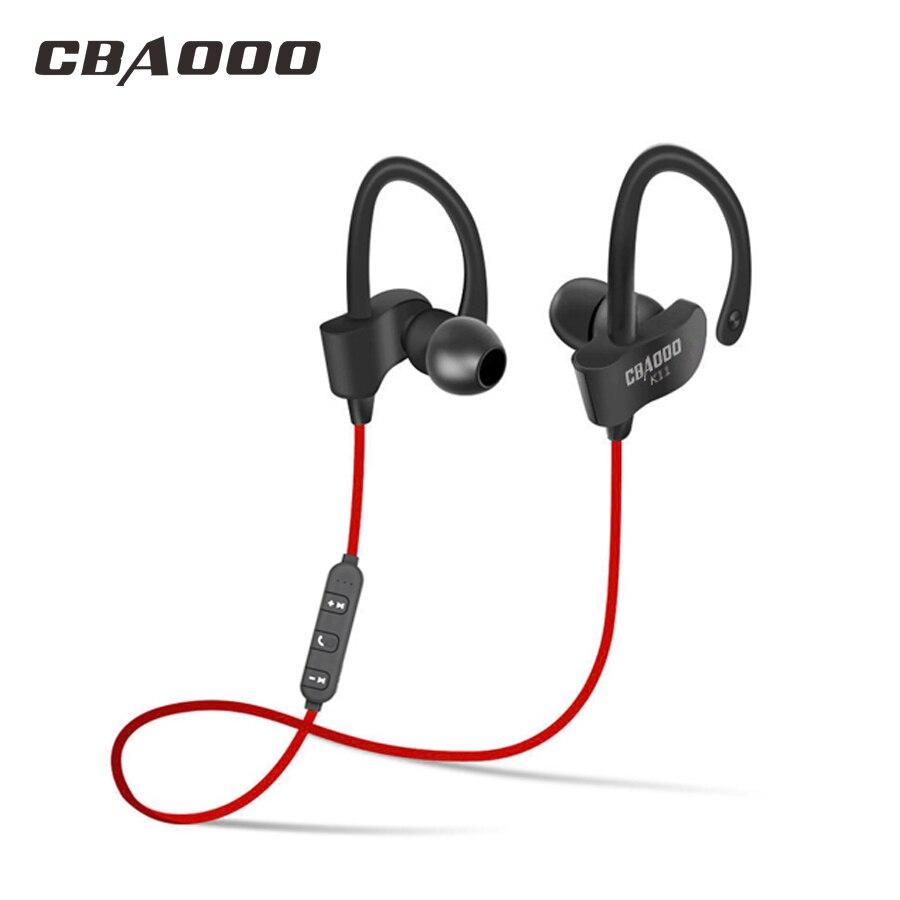 CBAOOO bluetooth fone de ouvido sem fio bluetooth fone de ouvido esporte fone de ouvido à prova d' água baixo com microfone para iPhone android
