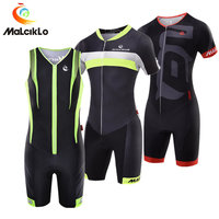 Malciklo Triathlon Suit High Quality Breathable Men's Cycling Jersey 2018 Pro Team Cycling Skinsuit Maillot Ropa Ciclismo