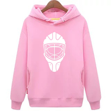 Крутой Хоккей дешевые унисекс розовый хоккейные толстовки Толстовка с хоккейной маской для мужчин и женщин