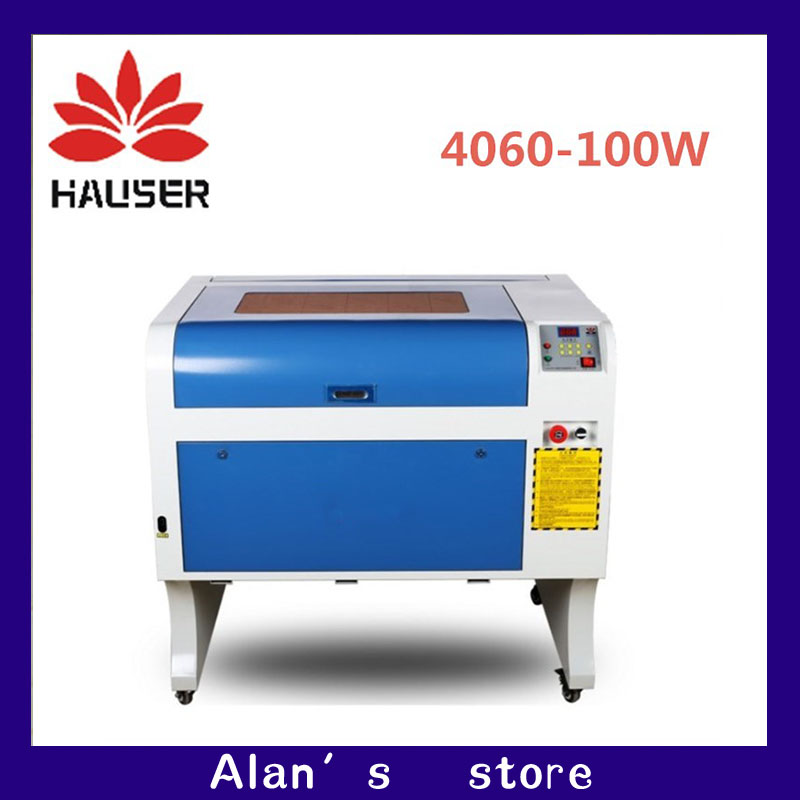 HCZ co2 láser CNC 100 W 4060 cortador de grabado láser máquina de marcado láser mini grabador láser cnc router cabeza diy